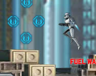 Clone Wars Adventures Jetpack Trooper játék