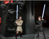Jedi vs Jedi blades of light Star Wars j�t�kok